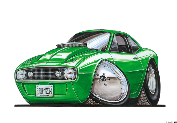 Chevrolet Camaro Verte
