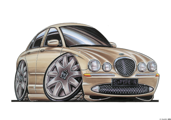 Jaguar Type S Beige
