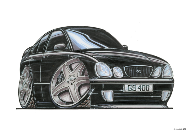 Lexus GS400 Noire