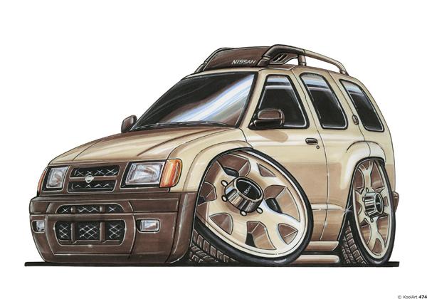 Nissan Terrano 4X4 Beige