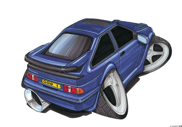 Ford Sierra Bleue