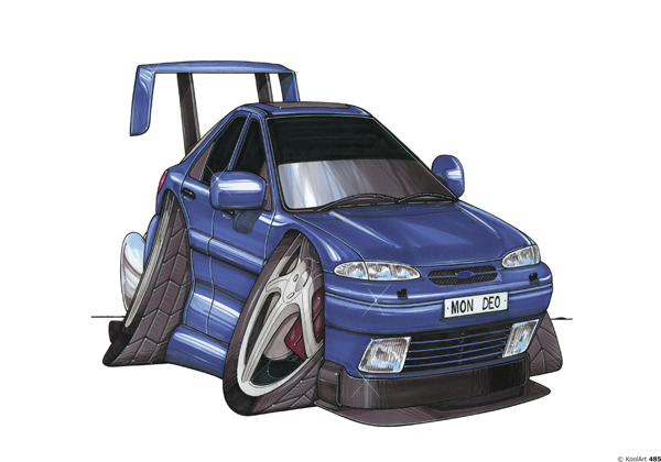 Ford Mondeo Tunning