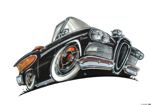 Ford Edsel Citation Noire