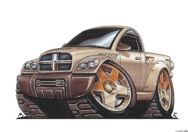 Dodge Wagon Pick Up Beige
