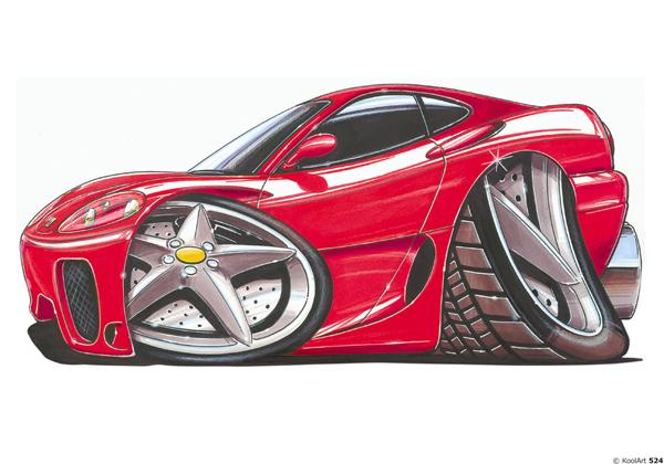 Ferrari F360 Rouge