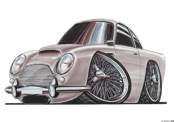 Aston Martin DB5 Grise
