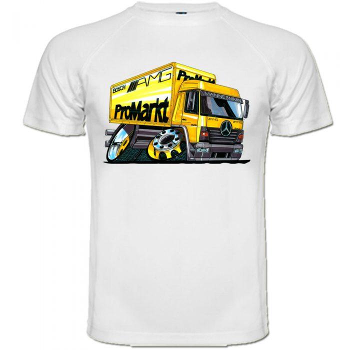 tee shirt caricature camion