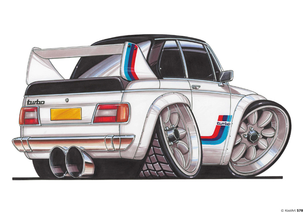 BMW 2002 TURBO Blanche