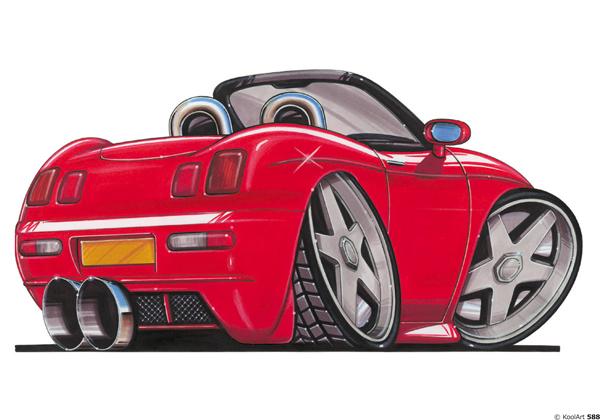 Fiat Barchetta Rouge AR