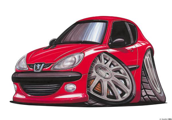 Peugeot 206 Rouge