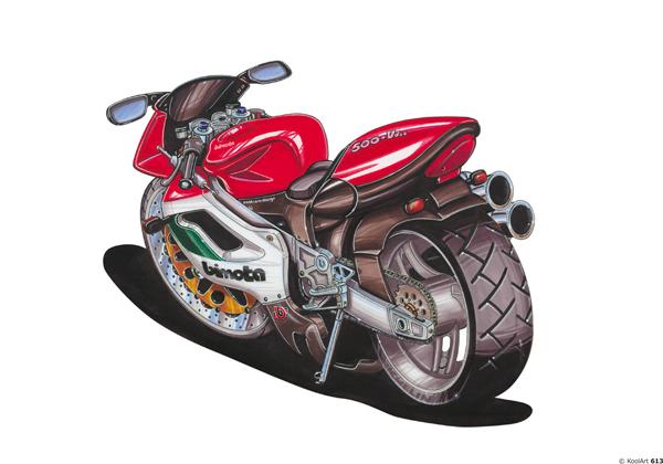 Bimota 500 Moto Rouge