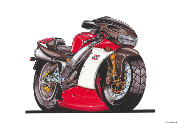 Bimota SB8R Rouge