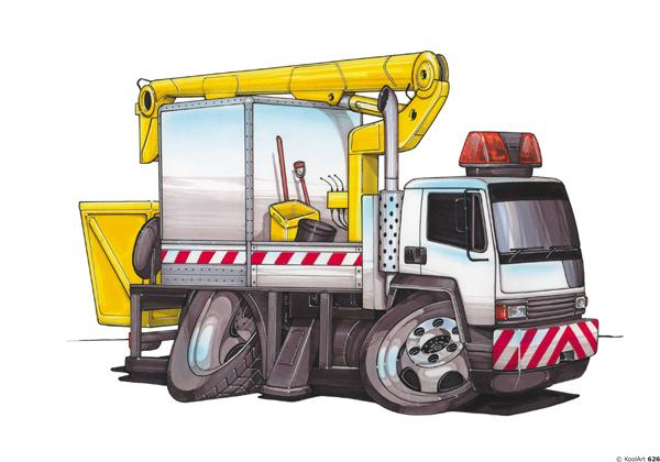 Camion Nacelle Travaux