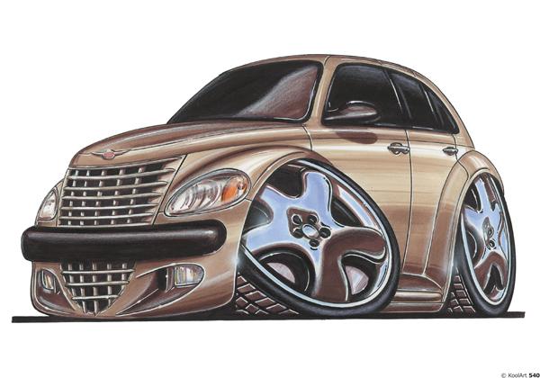 Chrysler PT Cruiser Beige