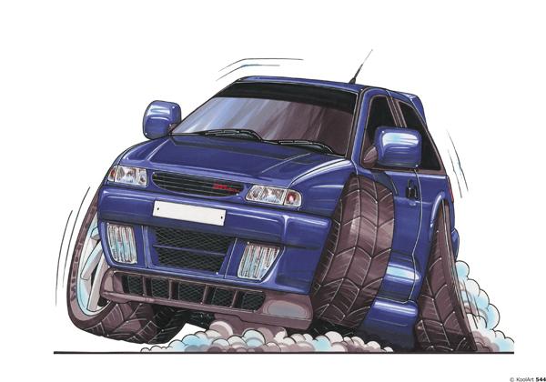 Seat Ibiza GTI Bleue