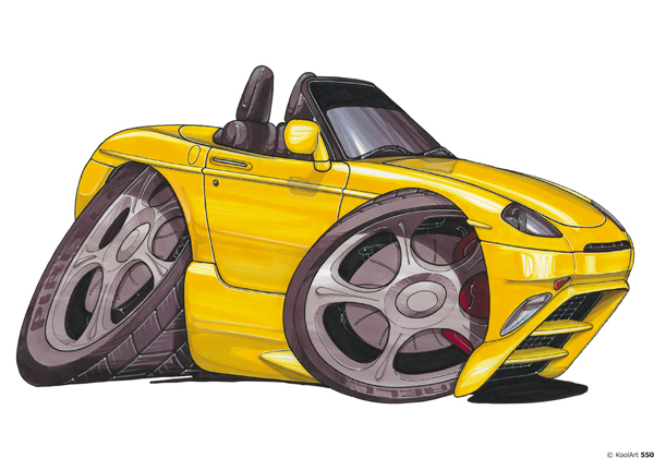 Fiat Barchetta Jaune