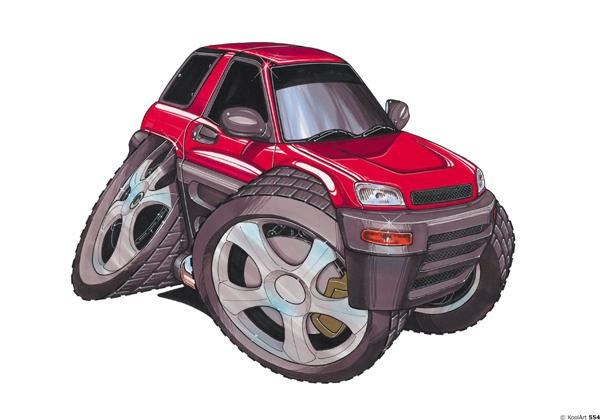 Toyota RAV4 Rouge
