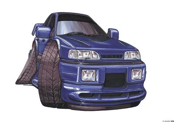 Ford Sierra Face Bleue
