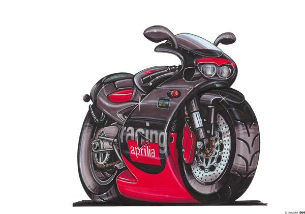 Aprilia Racing Noire