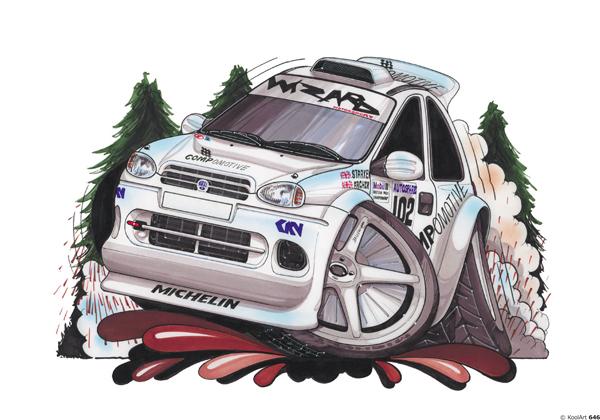 Opel Corsa Maxi Rallye Blanche