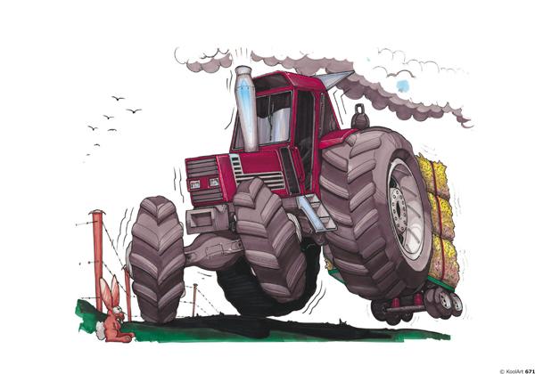 Tracteur Fiat Rouge