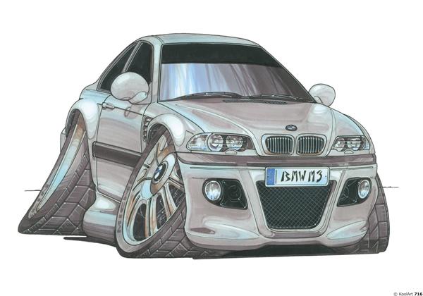 BMW M3 Coupé Grise