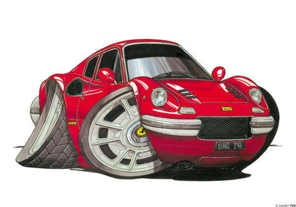 Ferrari Dino Rouge