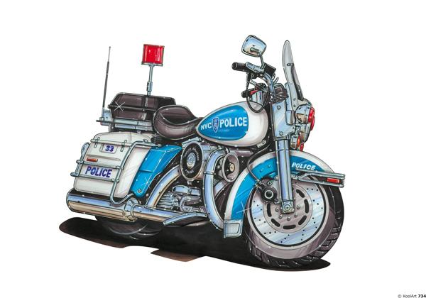 Harley Davidson Police Patrol