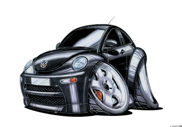 Volkswagen Beetle Noire