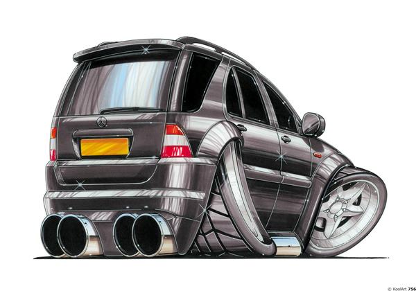 Mercedes AMG 4X4 Noir