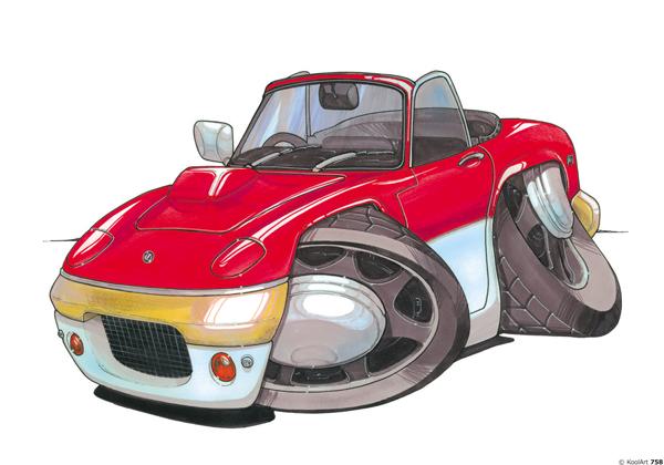 Lotus Elan Cabriolet Rouge