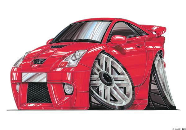 Toyota Celica Sport Rouge