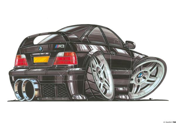 BMW M3 Noire
