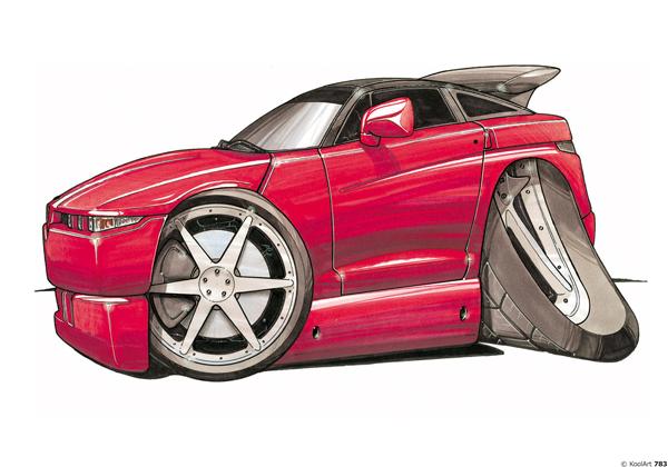 Alfa Roméo Coupé Rouge