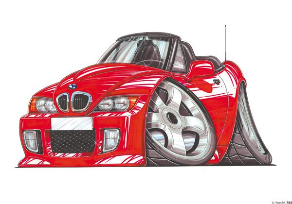 BMW Z3 Cabriolet Rouge