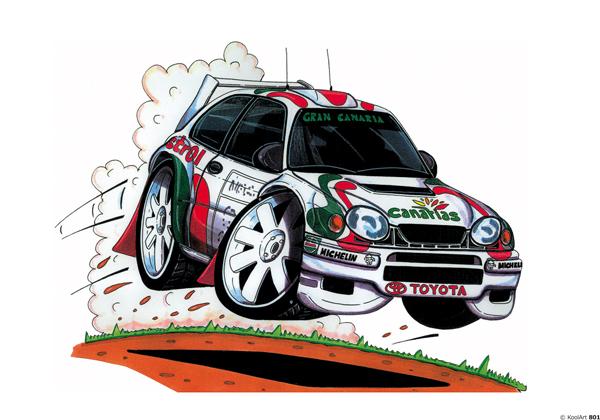Toyota Corolla Rallye Blanche