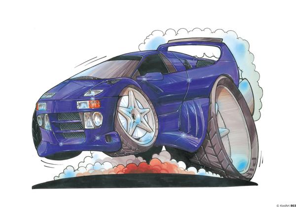 Lamborghini Diablo Bleue