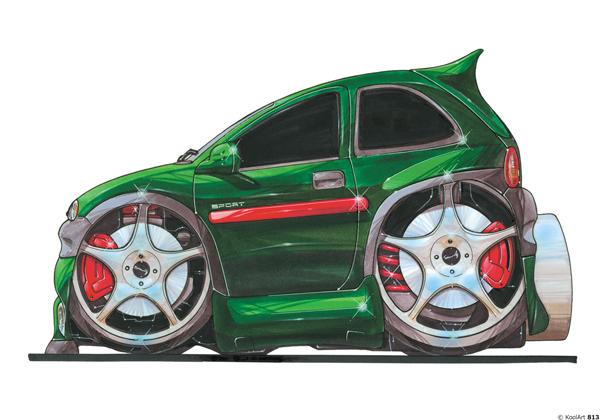 Opel Corsa Sport Verte