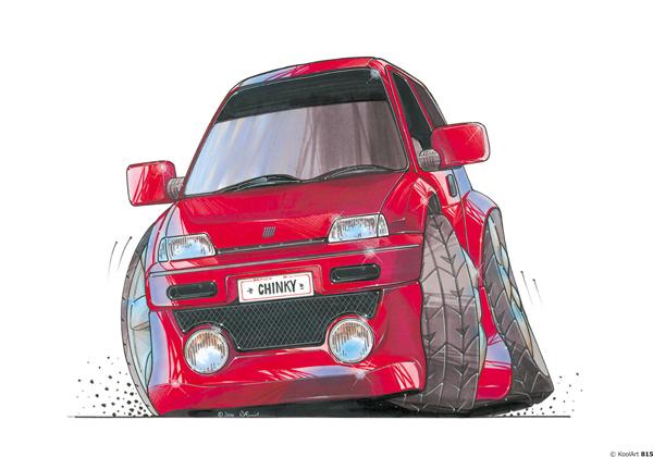 Fiat Cinquecento Rouge