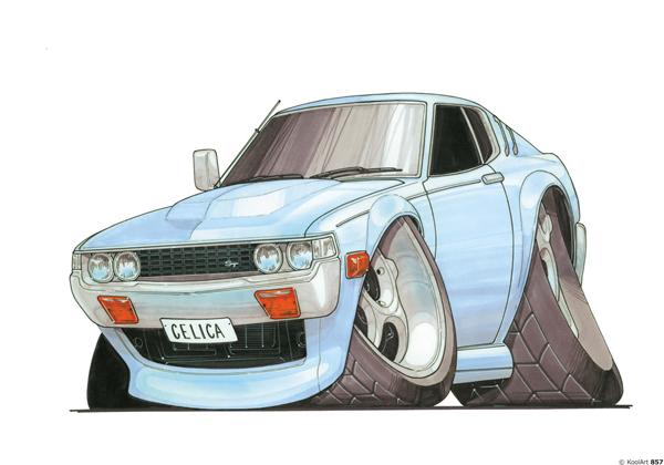 Toyota Celica ST Bleue