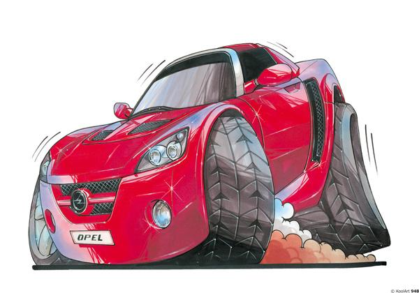 Opel Speedster Rouge