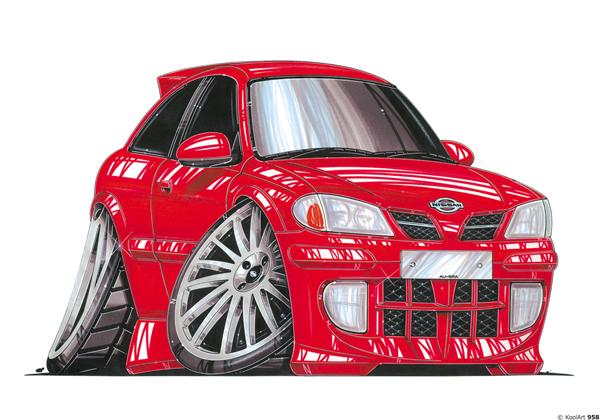 Nissan Almera Rouge