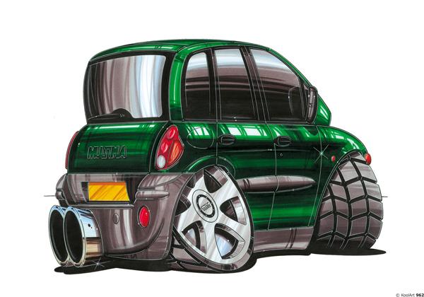 Fiat Multipla Vert