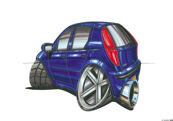 Fiat Punto Bleue