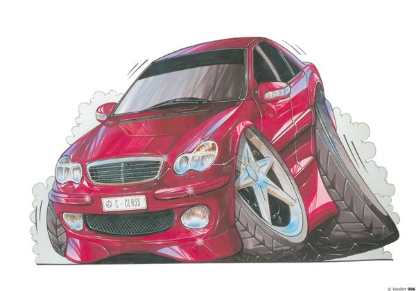 Mercedes Classe C Rouge