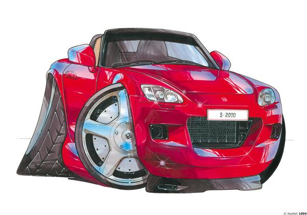 Honda S 2000 Cabriolet Rouge