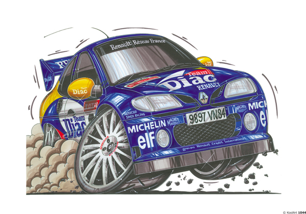 Renault Megane Rallye Bleue