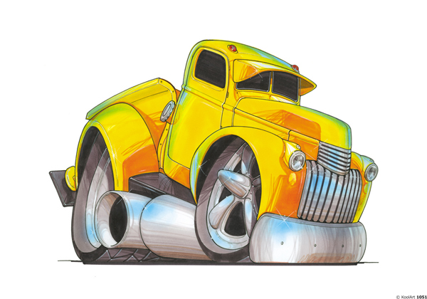 Chevrolet Pickup Jaune