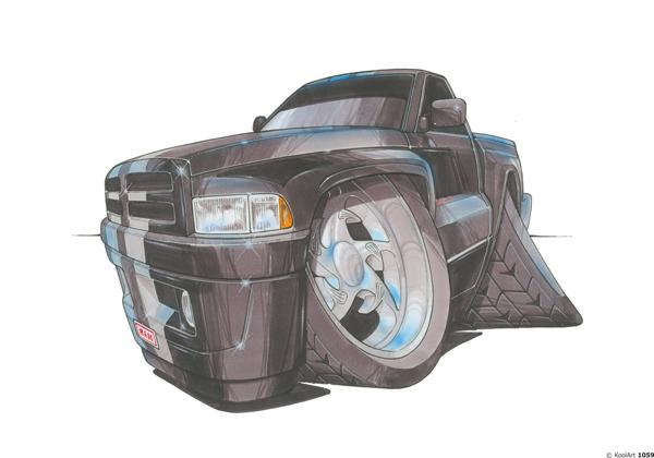 Dodge Ram Noir