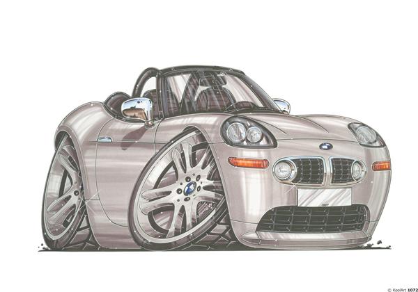 BMW Z8 Cabriolet Grise